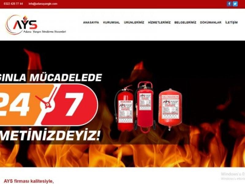 Adana Yangın Tüpü Dolumu